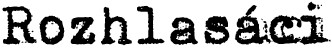 Rozhlasáci Logo